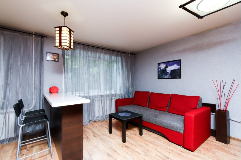 1-комн. квартира, 30 кв.м. на 4 человека, улица Мичурина, 37, Новосибирск - Фотография 6