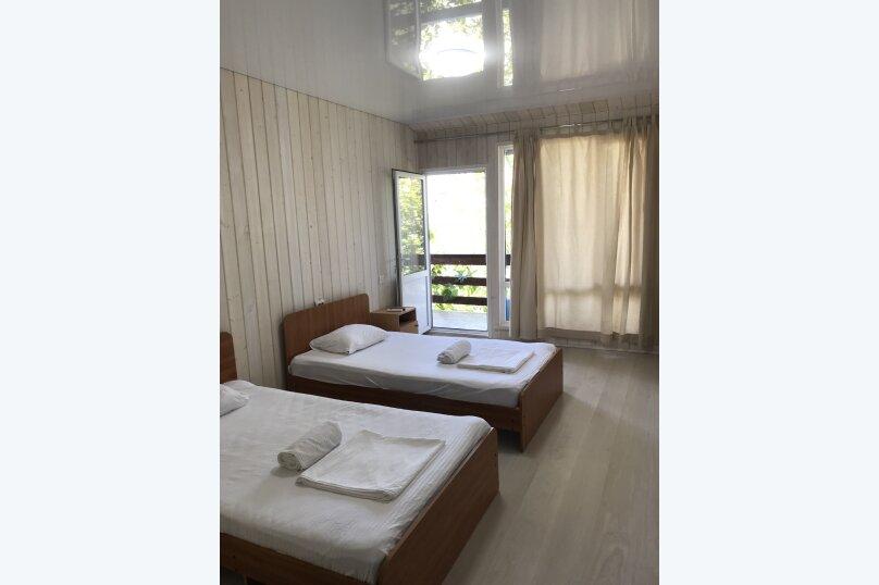 Стандартный двухместный номер с 2 односпальными кроватями, Ландышевый переулок, 58, Сочи - Фотография 1