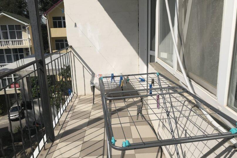 Комната с балконом (розовая), Мориса Тореза, 4В, Отрадное, Ялта - Фотография 14