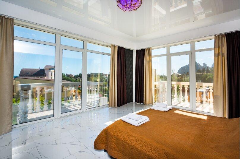 Семейный номер с балконами (14№), Кипарисовая аллея, 4А, Судак - Фотография 1