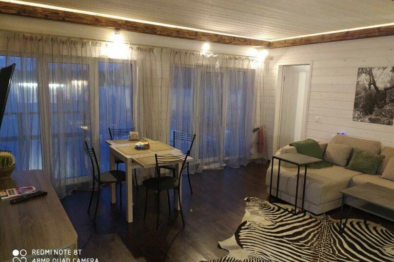 Наш дом - Карелия, 80 кв.м. на 6 человек, 2 спальни, загородная, 1, деревня Рауталахти - Фотография 1