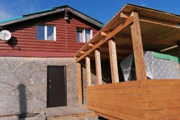 Дом новый из бруса, 140 кв.м. на 12 человек, 3 спальни, Нагорная, 2б, Шерегеш - Фотография 1