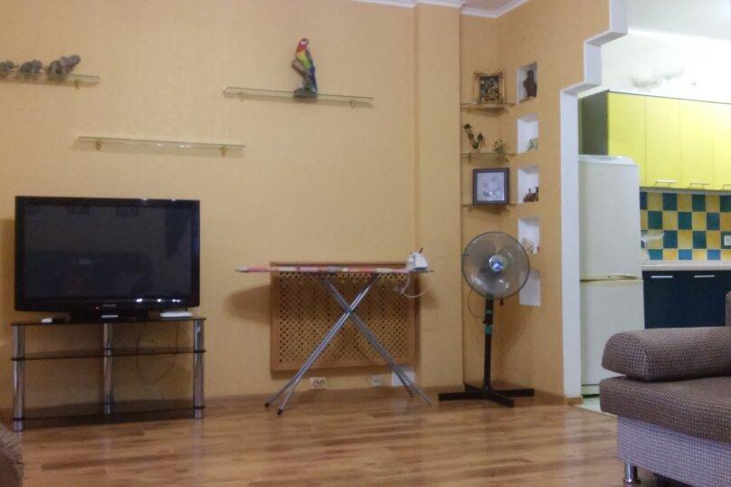 2-комн. квартира, 64.9 кв.м. на 8 человек, Октябрьская улица, 21, Алушта - Фотография 15