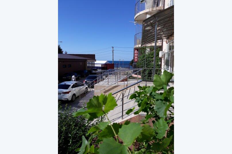 1-комн. квартира, 33 кв.м. на 4 человека, Портовая улица, 14, Джубга - Фотография 3