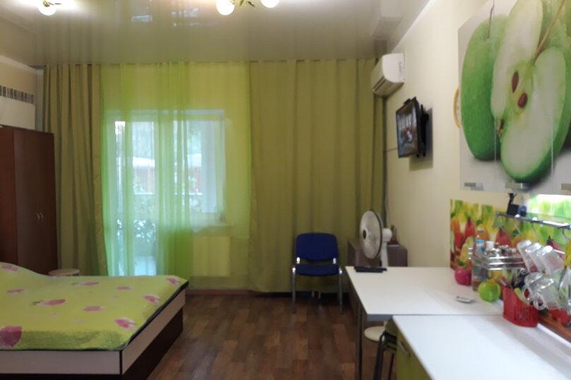 1-комн. квартира, 33 кв.м. на 4 человека, Портовая улица, 14, Джубга - Фотография 1