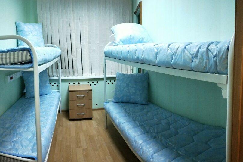 Четырехместный номер для мужчин, улица Рудневой, 11, метро Бабушкинская, Москва - Фотография 1
