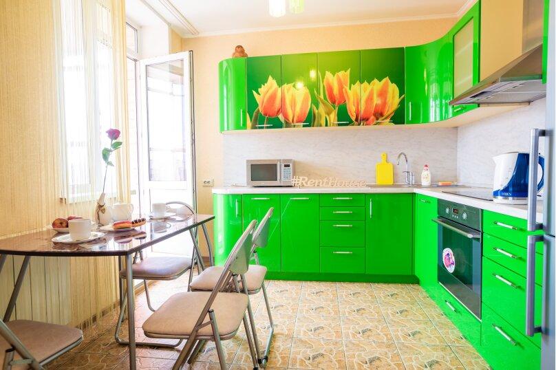 2-комн. квартира, 54 кв.м. на 4 человека, улица Молокова, 14, Красноярск - Фотография 2