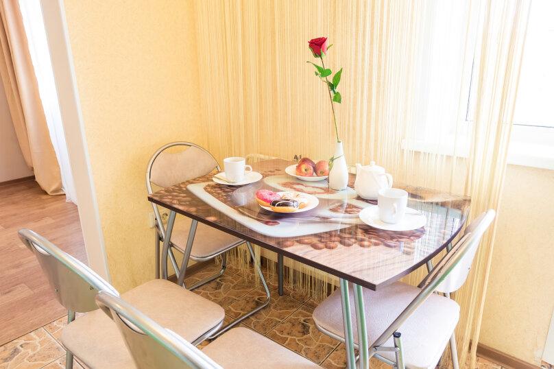 2-комн. квартира, 54 кв.м. на 4 человека, улица Молокова, 14, Красноярск - Фотография 6