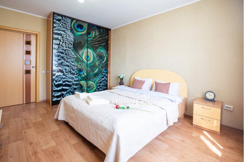 2-комн. квартира, 54 кв.м. на 4 человека, улица Молокова, 14, Красноярск - Фотография 8