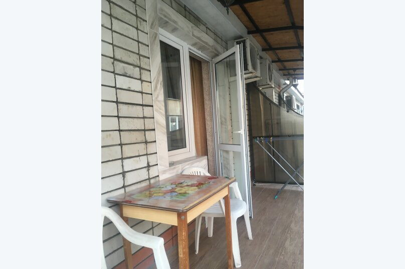 Одноместный номер со всеми удобствами и балконом ., улица Мира, 21А, Адлер - Фотография 1
