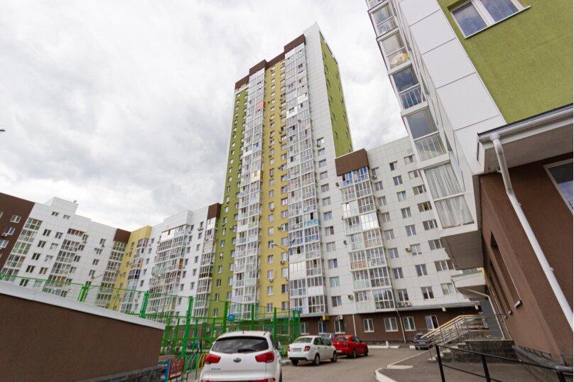 1-комн. квартира, 45 кв.м. на 4 человека, улица Бориса Домашникова, 22, Уфа - Фотография 17