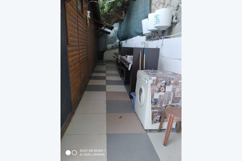 1-комн. квартира, 15 кв.м. на 3 человека, Гурзуфское шоссе, 14, Гурзуф - Фотография 27