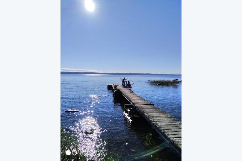 Дом с баней на острове озеро Сандал, 100 кв.м. на 8 человек, 3 спальни, Нигосторов, 10, Петрозаводск - Фотография 9