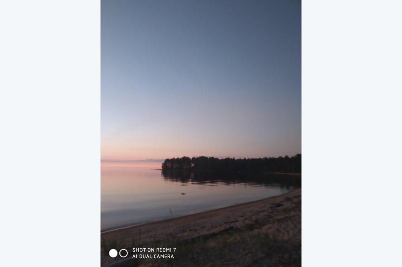 Дом с баней на острове озеро Сандал, 100 кв.м. на 8 человек, 3 спальни, Нигосторов, 10, Петрозаводск - Фотография 10