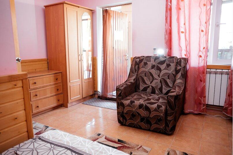 4-х местный эконом (3 кровати односпальные+кресло-кровать), Переулок Речной, 1, Феодосия - Фотография 2
