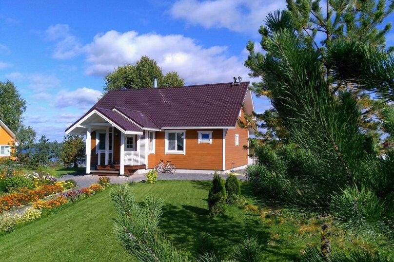 Дом, 130 кв.м. на 6 человек, 3 спальни, село Кончезеро, Боровая, 6, Кондопога - Фотография 1