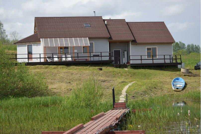 Гостевой дом на Селигере, свой берег, лодка, WIFI, 240 кв.м. на 15 человек, 5 спален, д. Тарасово, 14, Осташков - Фотография 1