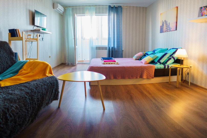 1-комн. квартира, 42 кв.м. на 4 человека, улица Куникова, 20А, Новороссийск - Фотография 4