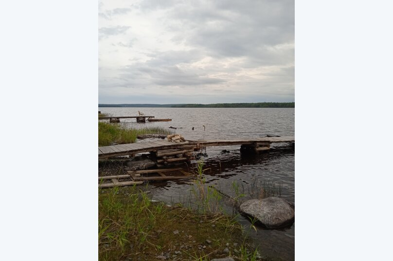 Дом с баней на острове озеро Сандал, 100 кв.м. на 8 человек, 3 спальни, Нигосторов, 10, Петрозаводск - Фотография 14
