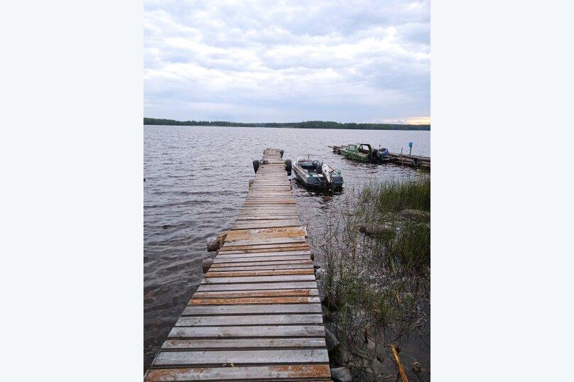 Дом с баней на острове озеро Сандал, 100 кв.м. на 8 человек, 3 спальни, Нигосторов, 10, Петрозаводск - Фотография 33