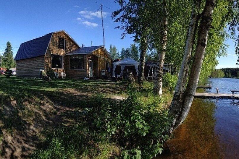 Дом, 57 кв.м. на 6 человек, 2 спальни, пос. Сяпся, Речная улица, 14, Петрозаводск - Фотография 1