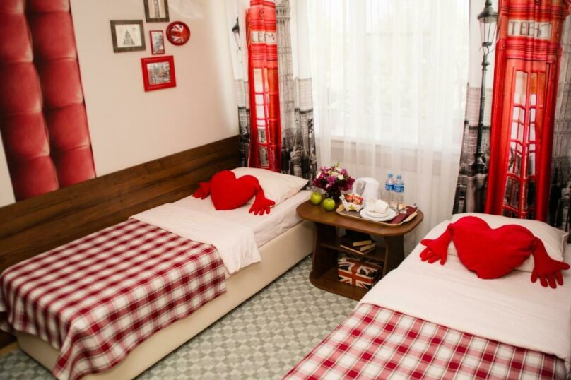 Стандартный номер с 2 кроватями №11, Советская улица, 68, Павловская - Фотография 1