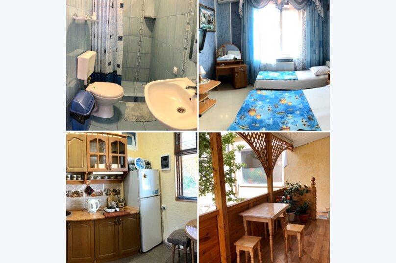 1-комн. квартира, 32 кв.м. на 3 человека, улица 14 Апреля, 19, Уютное, Судак - Фотография 43