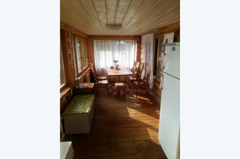 Коттедж 85 м² на участке 6 соток, 85 кв.м. на 8 человек, 2 спальни,  д. Заплавье, ул.Лесная, 4, Осташков - Фотография 17
