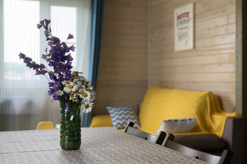 """Дом """"МОРЕ ДАЧИ"""", 73 кв.м. на 8 человек, 2 спальни, ДНП Можайское море, 36, Можайск - Фотография 1"""