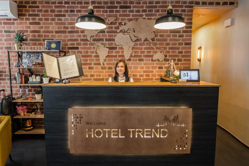 """Отель """"Тренд"""", 8-я Радиальная улица, 6 на 22 номера - Фотография 1"""