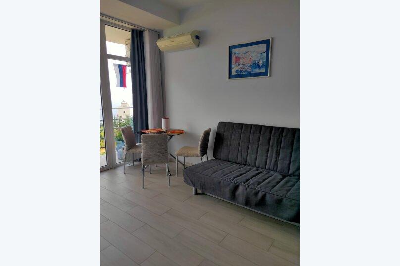 1-комн. квартира, 25 кв.м. на 3 человека, Виноградная улица, 1Г, Ливадия, Ялта - Фотография 12