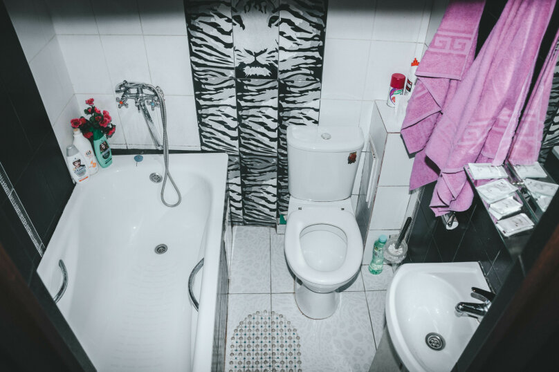 1-комн. квартира, 25 кв.м. на 3 человека, улица Кириченко, 7, Туапсе - Фотография 17