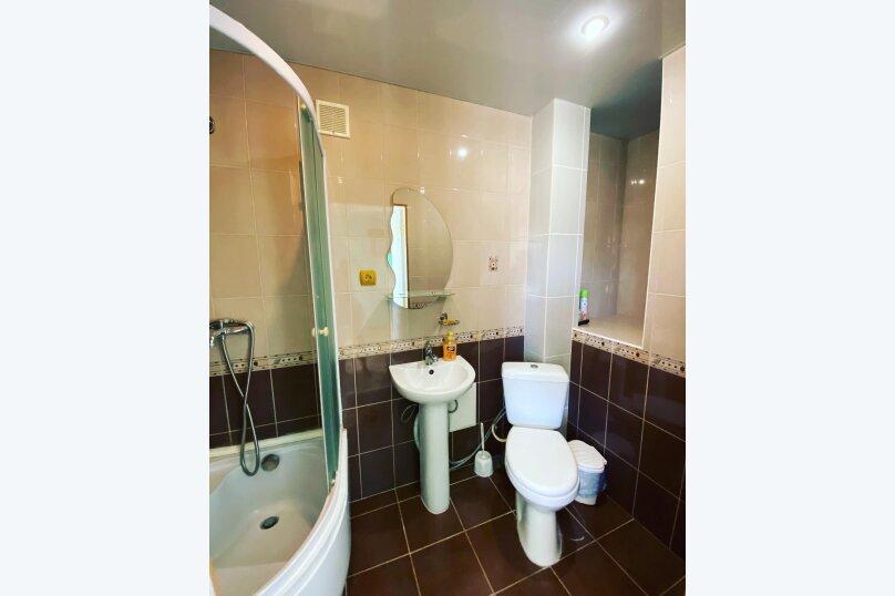 Двухместный номер с 1 кроватью и собственной ванной комнатой и кондиционером, Одесский переулок, 3, Феодосия - Фотография 10