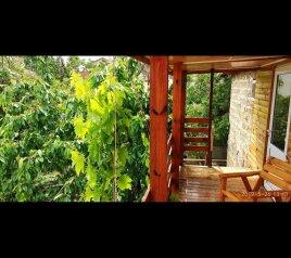 """Деревянный домик """"На Цветочная 13"""", Цветочная улица, 13 на 5 комнат - Фотография 1"""