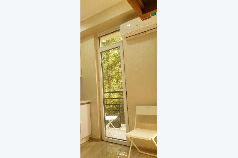 1-комн. квартира, 32 кв.м. на 4 человека, Нагорный тупик, 13Б, Адлер - Фотография 13