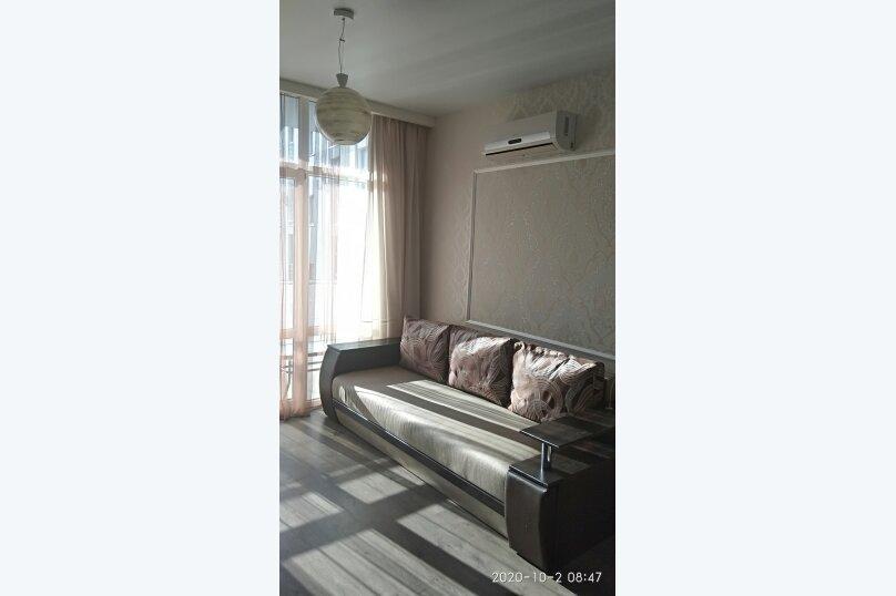 1-комн. квартира, 25 кв.м. на 3 человека, Лесная улица, 2В, Гаспра - Фотография 5