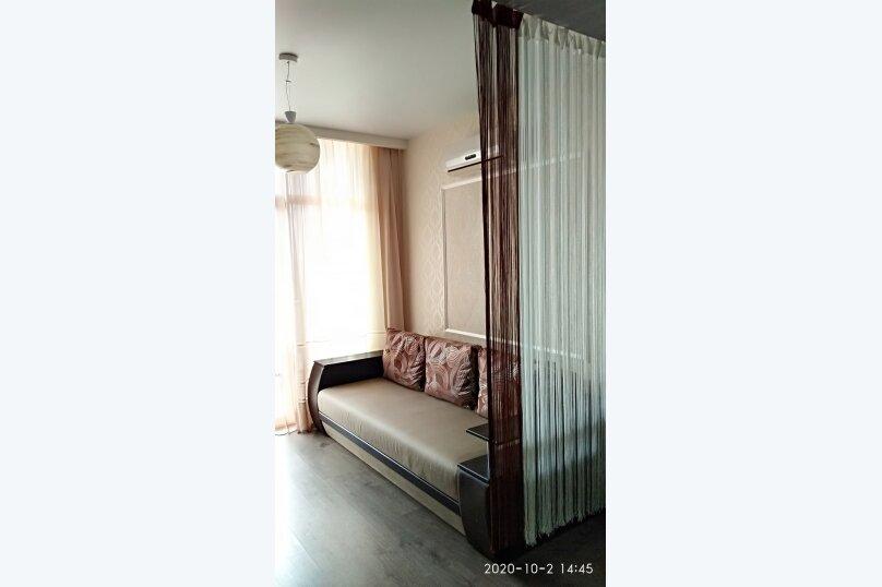 1-комн. квартира, 25 кв.м. на 3 человека, Лесная улица, 2В, Гаспра - Фотография 13