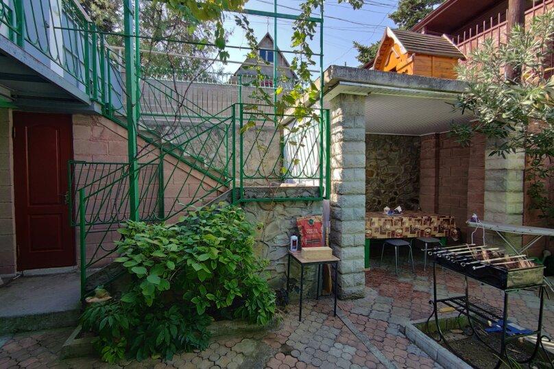 Дом 3ком1проходная10мин пляж,кухня,кондиционер,парковка, 100 кв.м. на 7 человек, 3 спальни, Таврическая улица, 36, Алушта - Фотография 16