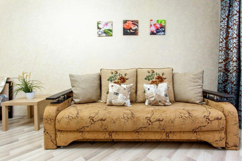 2-комн. квартира, 45 кв.м. на 5 человек, улица Котлярова, 17, Краснодар - Фотография 13