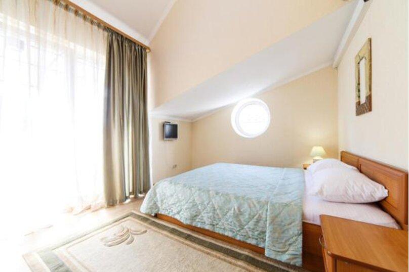 Двухместный номер с двуспальной кроватью, переулок Чкалова, 1А, Адлер - Фотография 1