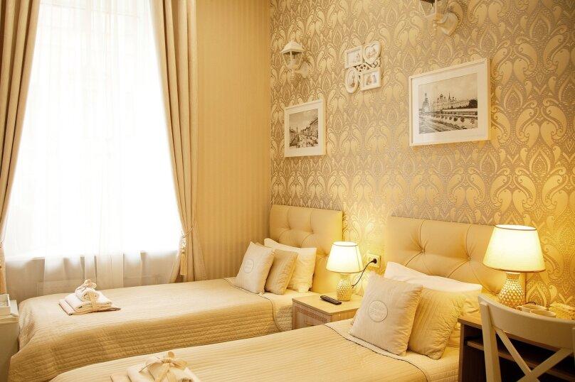 Стандартный двухместный номер с 2 отдельными кроватями , Гороховая улица, 11, Санкт-Петербург - Фотография 1