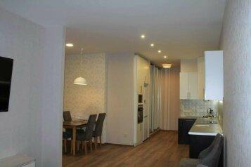 2-комн. квартира, 55 кв.м. на 4 человека, Алупкинское шоссе, 12В, Курпаты, Ялта - Фотография 1