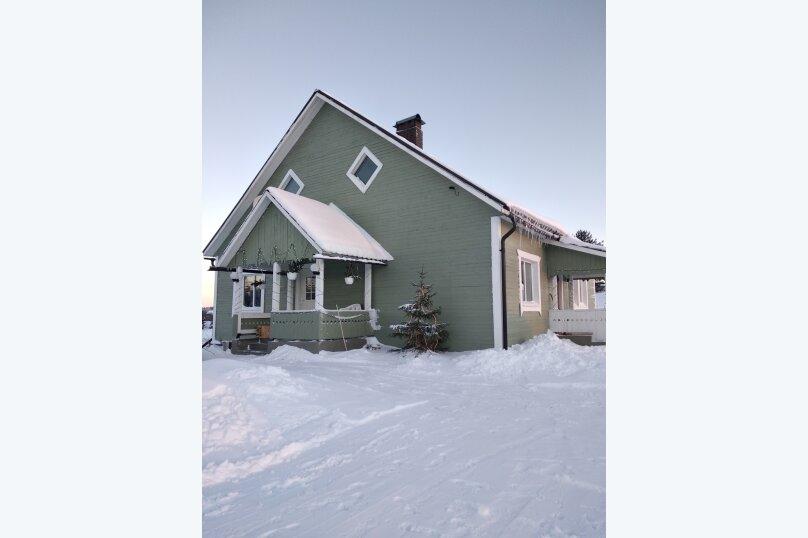 Дом, 120 кв.м. на 8 человек, 2 спальни, Куркиёки, Зелёная улица, 57, Лахденпохья - Фотография 35