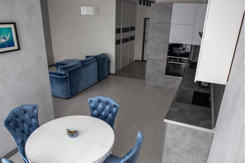 1-комн. квартира, 41 кв.м. на 4 человека, переулок Крупской, 29/1, Ставрополь - Фотография 4