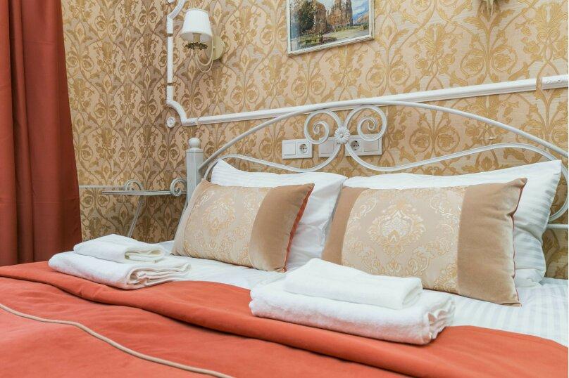 Двухместный стандартный номер с 1 двуспальной кроватью и собственной ванной комнатой, Спасский, 2/44, Санкт-Петербург - Фотография 1