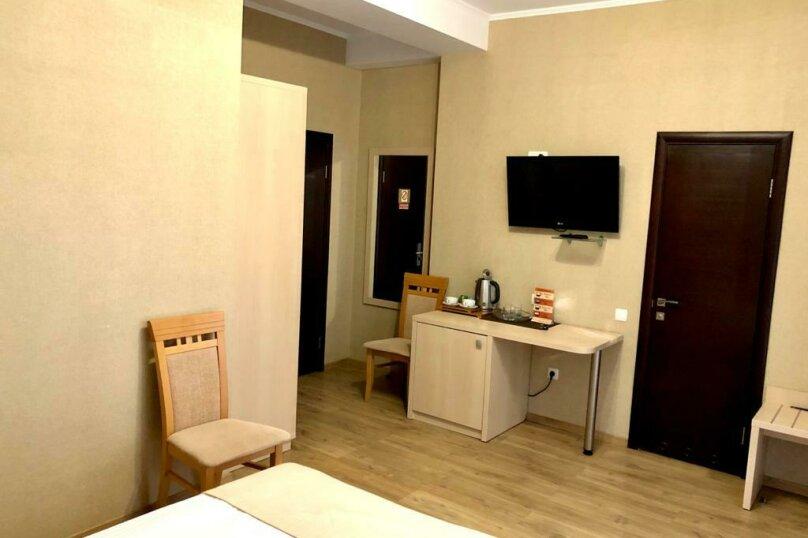 Однокомнатный номер с двумя отдельными кроватями с одним балконом, Набережная улица, 8А, Алушта - Фотография 2