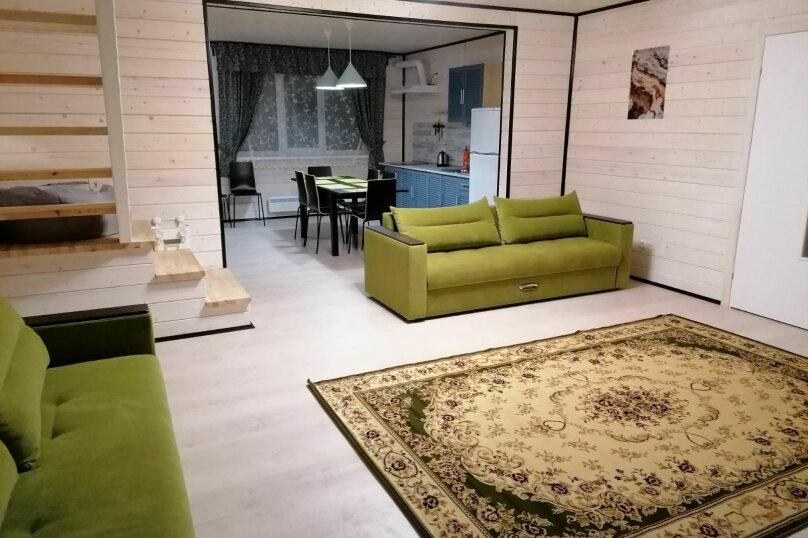 Апартаменты-II, 90 кв.м. на 12 человек, 3 спальни, д. Ууксу, ул Сплавная , 17, Питкяранта - Фотография 1