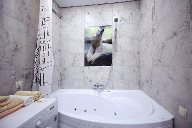 2-комн. квартира, 52 кв.м. на 4 человека, улица Лермонтова, 19А, Белгород - Фотография 2