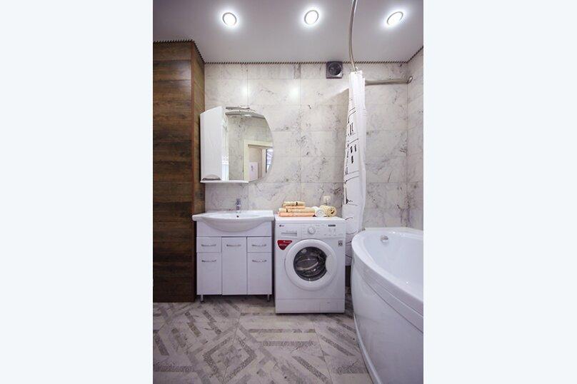 2-комн. квартира, 52 кв.м. на 4 человека, улица Лермонтова, 19А, Белгород - Фотография 3