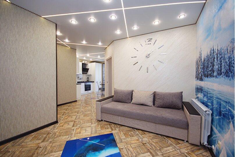 2-комн. квартира, 52 кв.м. на 4 человека, улица Лермонтова, 19А, Белгород - Фотография 12